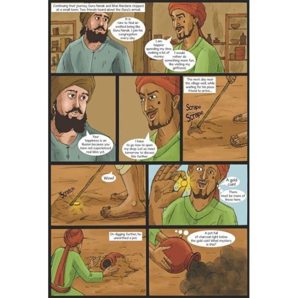 Guru Nanak Dev Jee Graphic Novel Volume 2 3