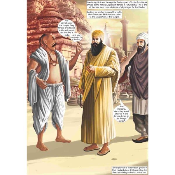 Guru Nanak Dev Jee Graphic Novel Volume 3 2