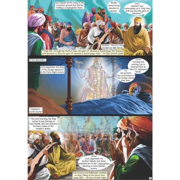 Guru Nanak Dev Jee Graphic Novel Volume 3 3