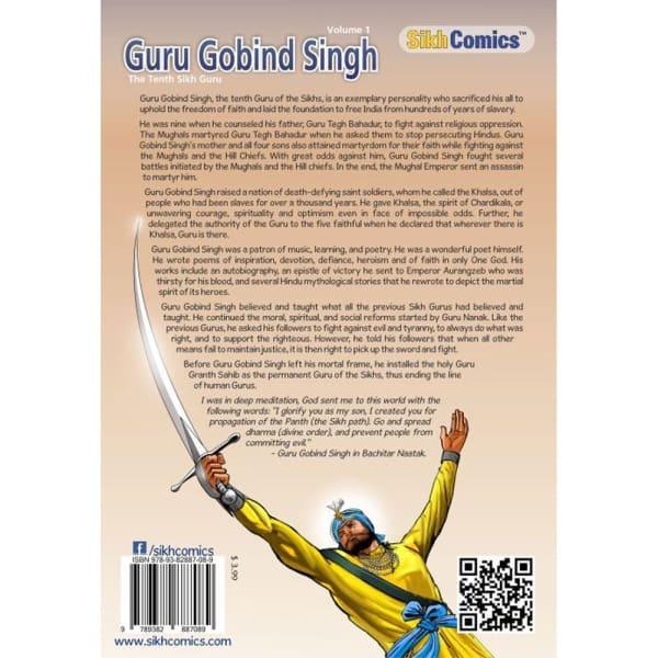 Guru Gobind Singh Jee Graphic Novel Volume 1 2