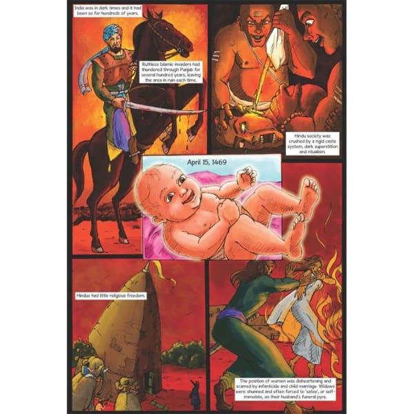 Guru Nanak Dev Jee Graphic Novel Volume 1 2