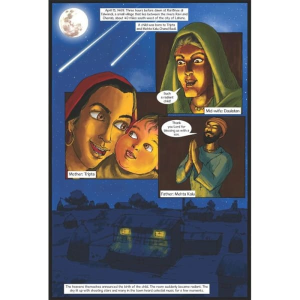 Guru Nanak Dev Jee Graphic Novel Volume 1 3