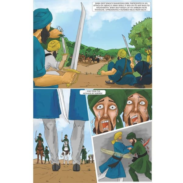 Baba Deep Singh Jee Graphic Novel 3