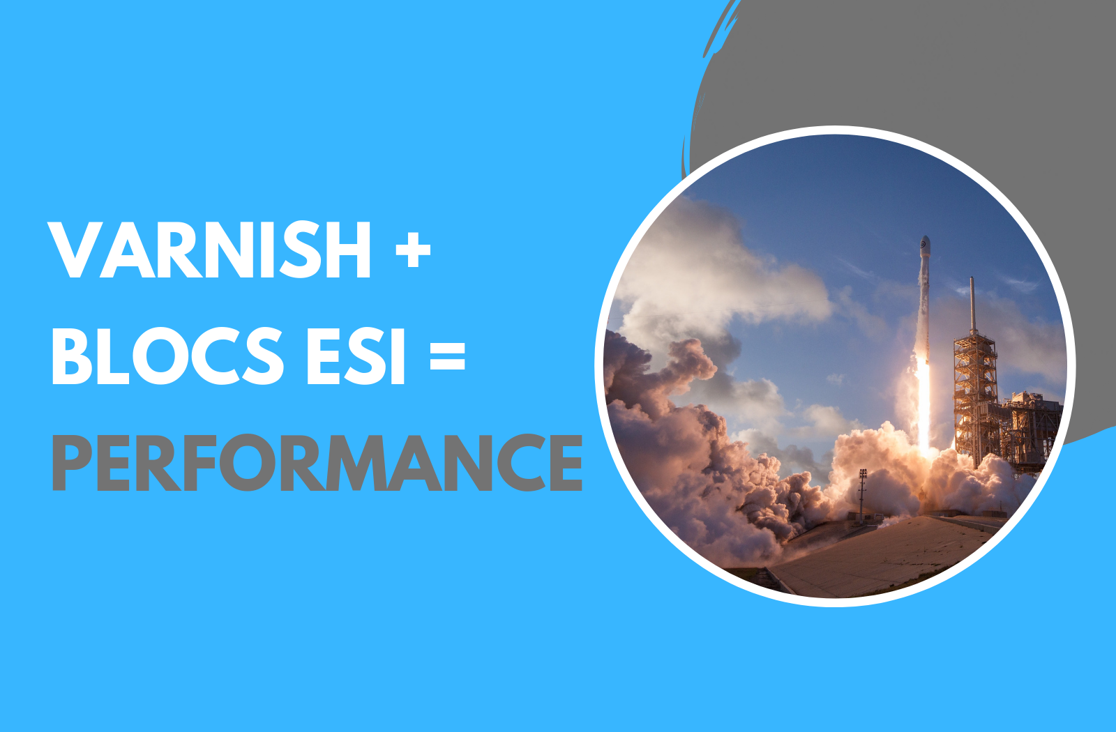 Utilisez Varnish et le cache ESI pour diviser le temps de réponse de votre site Web par 100