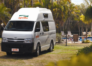 Apollo Campervan in Australien