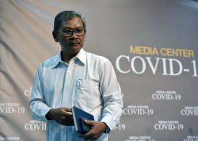 Juru Bicara (Jubir) Pemerintah untuk Penanganan Virus Korona (Covid-19), Achmad Yurianto.