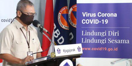 Juru Bicara Pemerintah untuk Penanganan COVID-19 Achmad Yurianto.