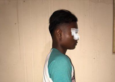 SY pelaku pembunuhan terhadap NMS, siswi MTsN di Tanjung Balai.