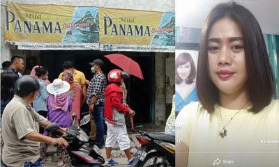 Lokasi Eva Salon di Jalan Cipto Kota Siantar dan foto masa hidup Eva Widiyani