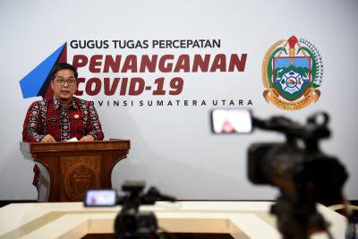 uru Bicara Gugus Tugas Percepatan Penanganan Covid-19 Sumatera Utara (Sumut) Aris Yudhariansyah