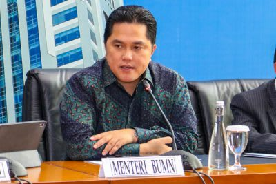Menteri BUMN Erick Tohir