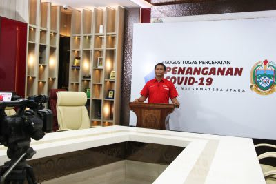 Kepala Unit Donor Darah Palang Merah Indonesia Kota Medan Harry Butarbutar
