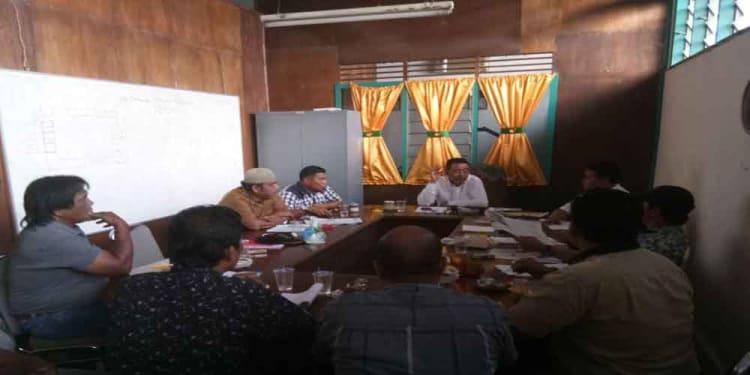 Dirut PT TSM Hamdan Nasution memberikan penjelasan soal kesekapatan pihaknya dengan para pedagang.