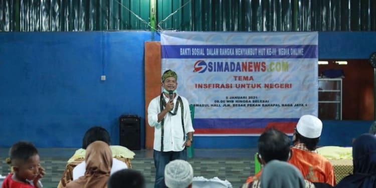 Pemimpin Umum/Redaksi SimadaNews.com, Hermanto Sipayung SH