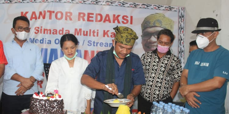 Ketua Umum DPP JM3, Saiful Amin Lubis (paling kanan pakai topi)