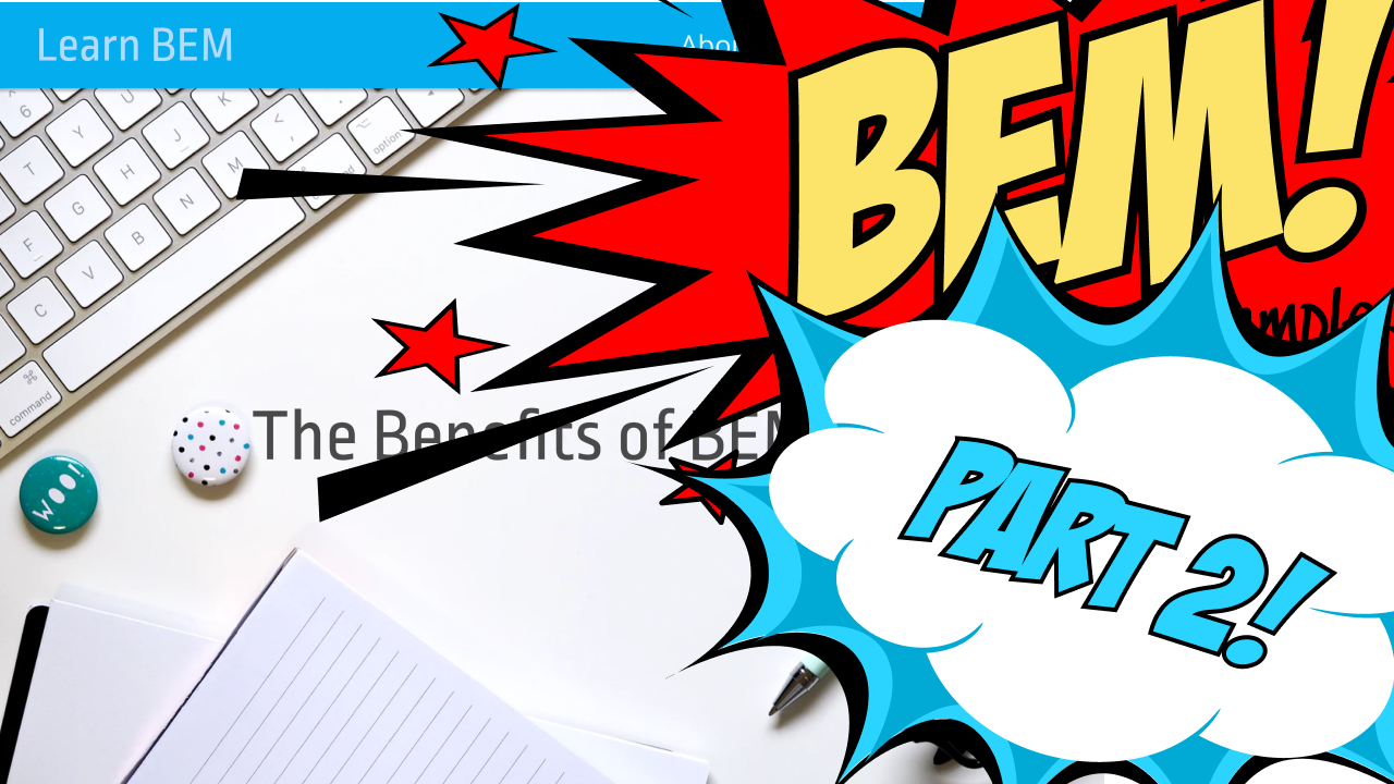 Header image of BEM by Example – Part 2, the header