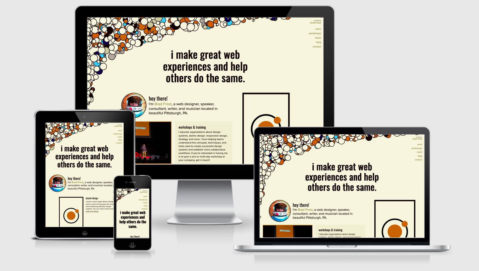 RWD Weekly #411 Interview Series with Brad Frost | Responsive Web Design