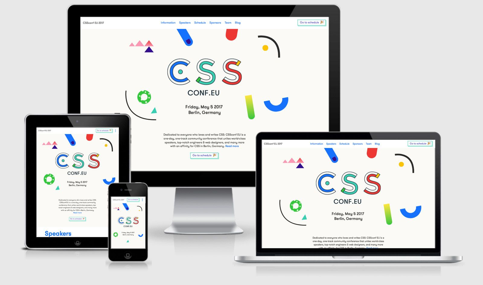 CSS Conference EU Example Site