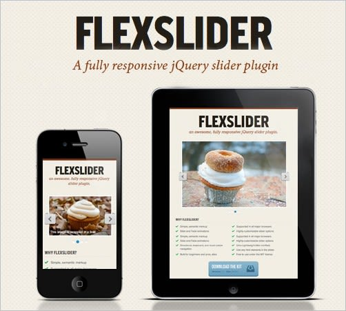 Flexslider: a responsive image slider from Woo Themes