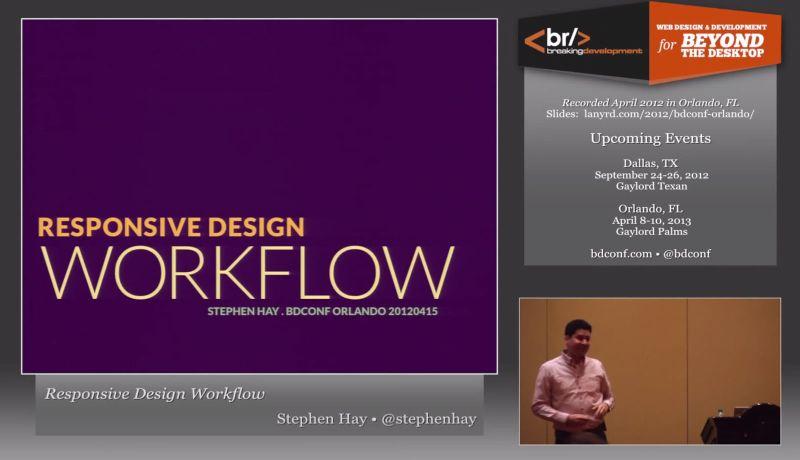 Responsive Design Workflow Stephen Hay