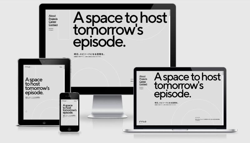 Largo Studio website across four differnt devices