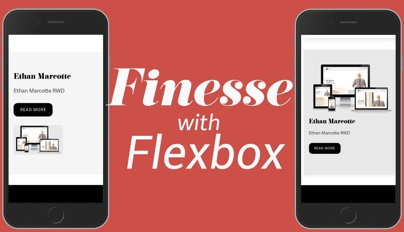 Responsive Finesse With Flexbox