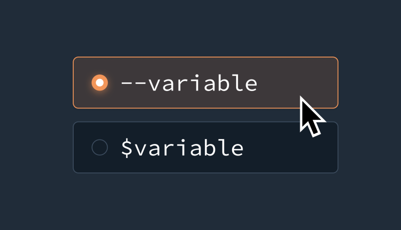 CSS Variables and Sass Variables