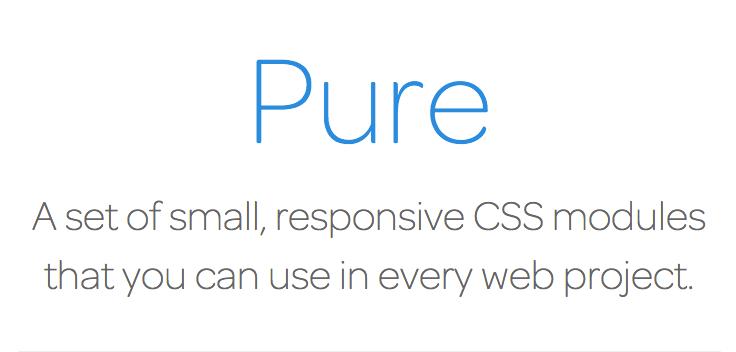 Pure CSS Framework Logo