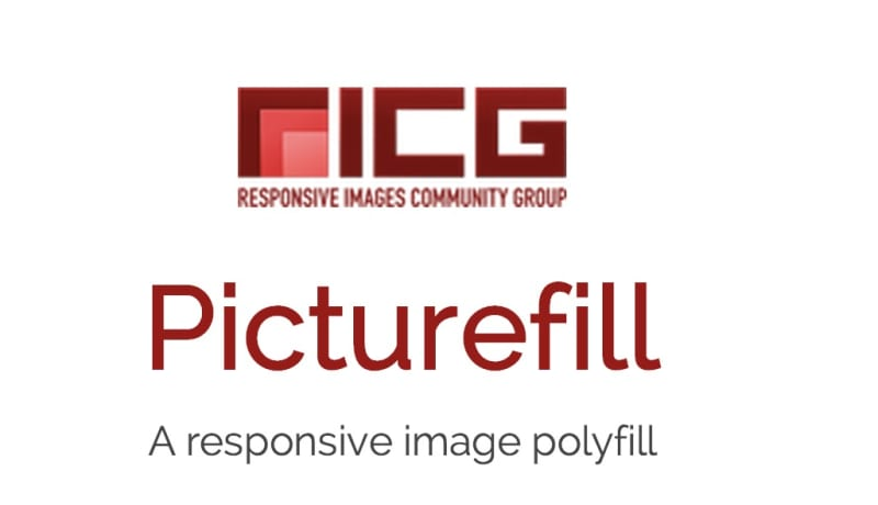 Responsive Images Picture Fill Logo