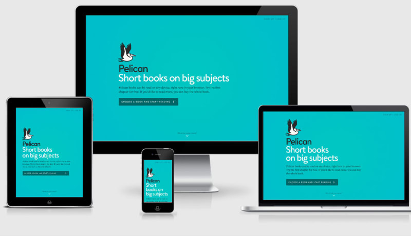 Pelican Books Responsive Design