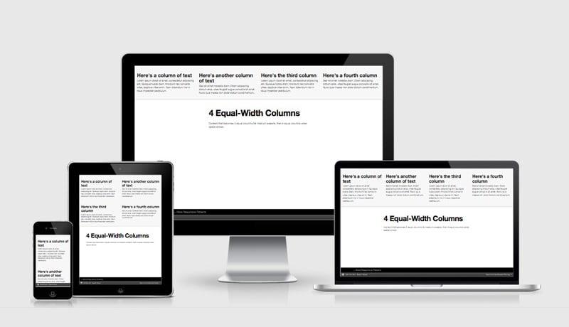 Four Equal Columns