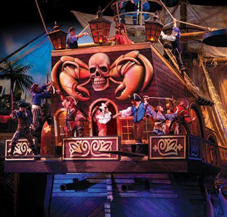 Pirate Voyage! $3 OFF Adult Ticket, $1 OFF Child Ticket