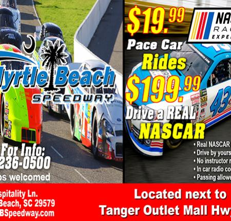 ON SALE NOW NASCAR Racing Experience