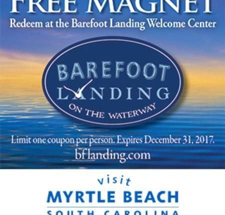 Barefoot Landing - Free Magnet