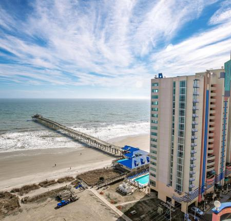 25% Off Standard Rates plus Cherry Grove Pier passes for 2