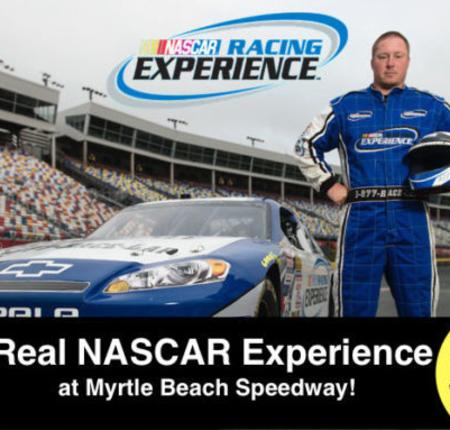 Myrtle Beach Speedway  $19.99 Pace Car Ride, $49.99 Ride Alongs, Drives Starting at $199.99