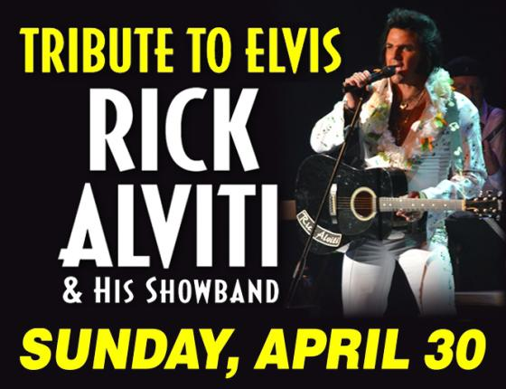 Rick Alviti & His Showband - That's The Way It Was - A Tribute to Elvis
