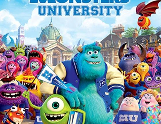 MOVIES UNDER THE STARS - MONSTERS UNIVERSITY (G)