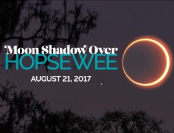 MOON SHADOW OVER HOPSEWEE ECLIPSE CELEBRATION