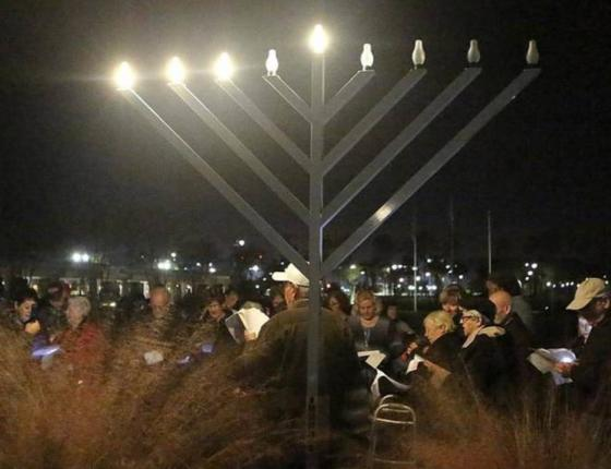 Lighting of the Menorah at The Market Common