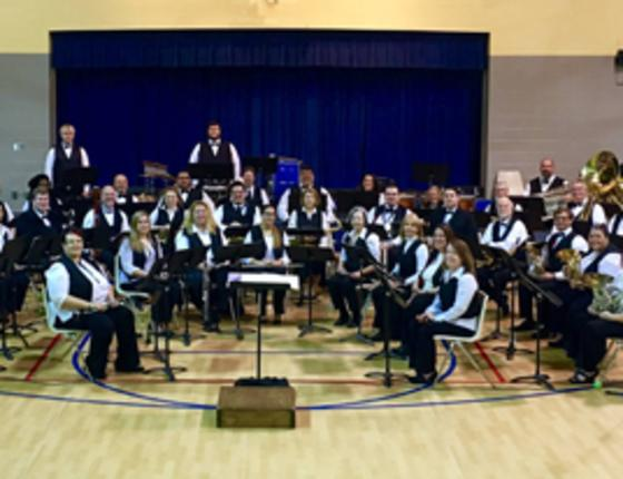 NMB Community Band's First Rehearsal of 2017