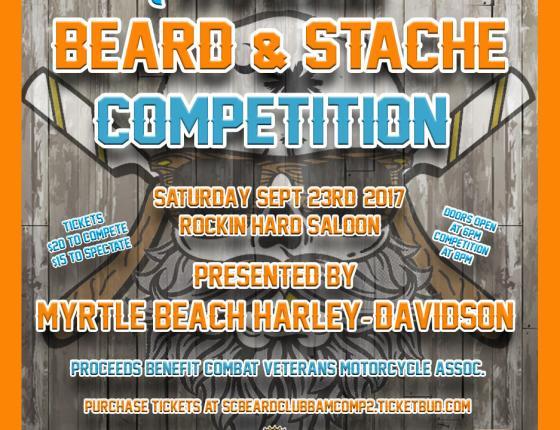 Myrtle Beach Harley-Davidson Presents South Carolina Beard Club's 4th Annual Beard & Mustache Competition