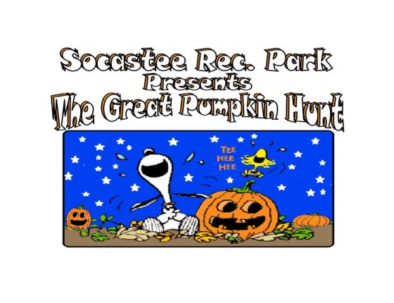 The Great Pumpkin Hunt