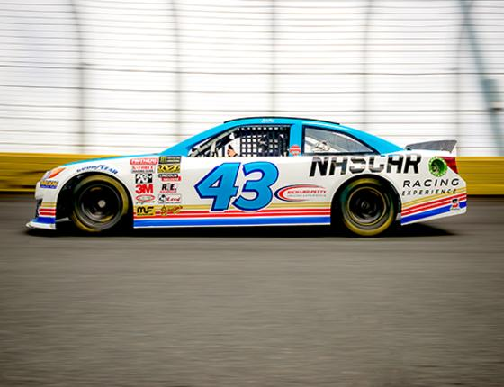 NASCAR Racing Experience DRIVE A REAL RACE CAR