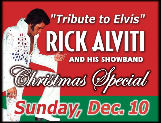 Rick Alviti Tribute to Elvis