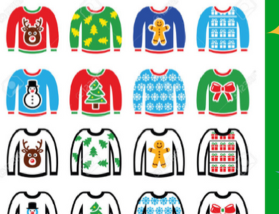 Ugly Holiday Sweater Improv Comedy Show (13+)