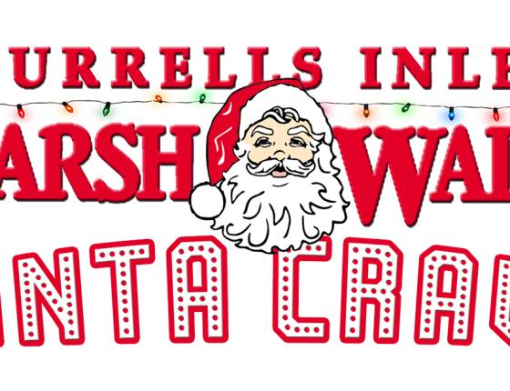 3rd Annual MarshWalk Santa Crawl