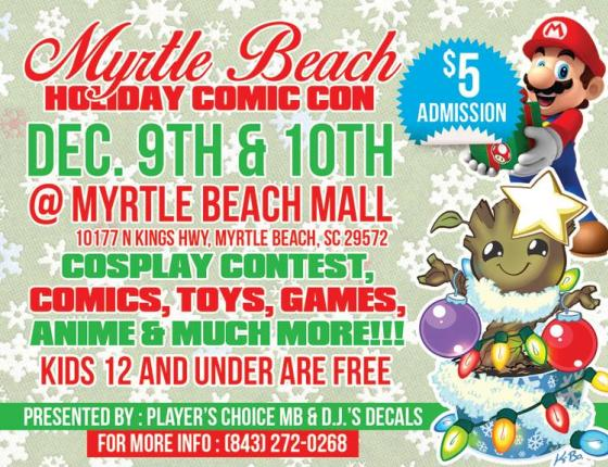Myrtle Beach Holiday Comic Con