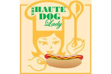 haute dog lady logo