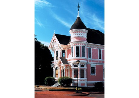 pink lady exterior
